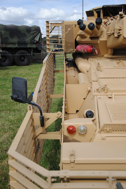 Military Vehicle Solutions provide upgrades and modernisation of the CVR(T) series of vehicle